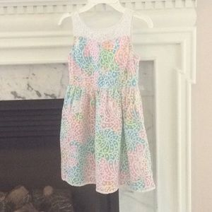 Lilly Pulitzer NWOT summer lace shift dress
